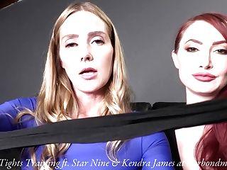 Dance Pantyhose Training - Stocking Supremacy Orgasm Denial Chastity Play Trailer