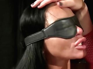 Mistress Playing With Her Gimp