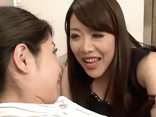 Exotic Japanese Fuckslut In Fabulous Hd, Girl-on-girl Jav Vid