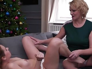 Sultry Matures Is About To Make Love With A Sweet, Nubile Girl-on-girl, Every Once In A While