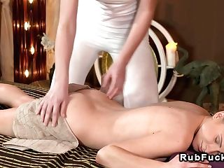 Slimy Girl/girl Nuru Rubdown Lezzies Euro
