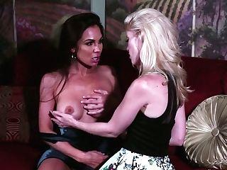 Amazing Beauty Kirsten Price Is Munching Yummy Honeypot Of Nasty Gf
