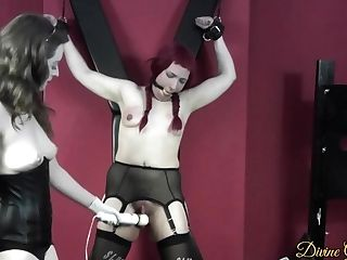 Tied Fucked Edged & Denied - Porcelain Beauty