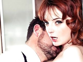 Housewife Lola Gatsby Drains Spunk In The Kitchen - Private