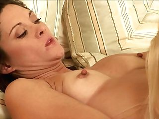 Blonde Stephanie Swift And Monique Alexander Strips And Then Take Care Of Each Other's Lezzy Moist Muff Pie